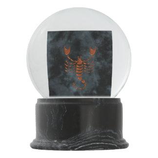 Scorpio Snow Globe