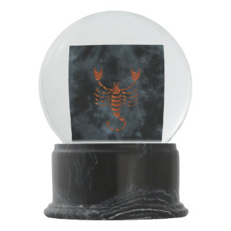 Scorpio Snow Globes