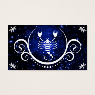 scorpio sophistications business card