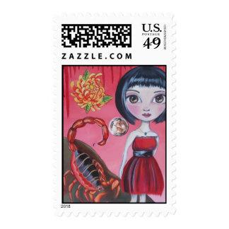 """Scorpio"" Stamps"