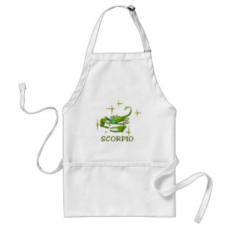 Scorpio (stars) adult apron