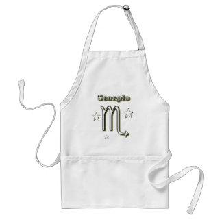 Scorpio symbol adult apron