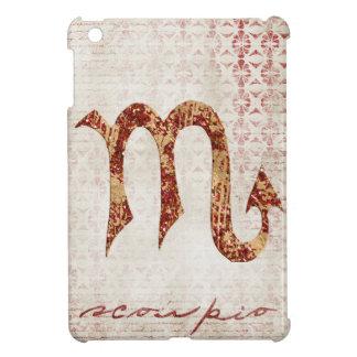 Scorpio symbol cover for the iPad mini