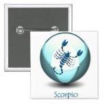 Scorpio Symbol Pin