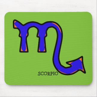 Scorpio symbol t mouse pad