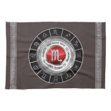 Scorpio - The Scorpion Astrological Sign Towel