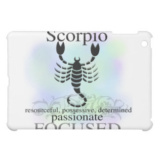 Scorpio the Scorpion Horoscope Sign  Cover For The iPad Mini
