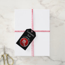 Scorpio - The Scorpion Horoscope Symbol Gift Tags