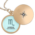 Scorpio the scorpion necklace