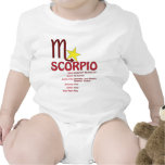 Scorpio Traits Baby Tshirt