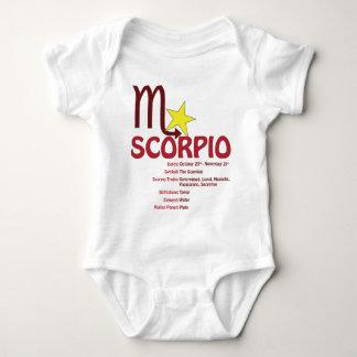 Scorpio Traits Baby Tshirts