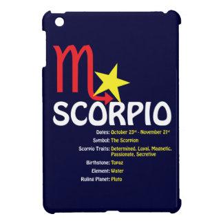 Scorpio Traits Dark iPad Case