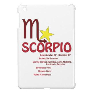 Scorpio Traits iPad Case