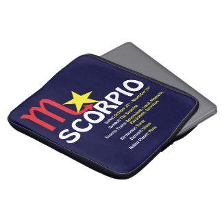 Scorpio Traits Laptop Sleeve