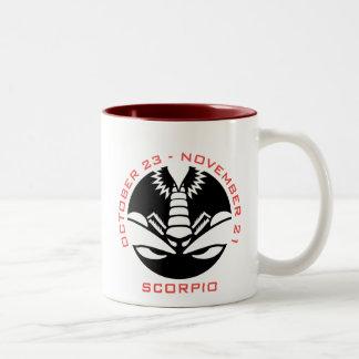 Scorpio Two-Tone Coffee Mug