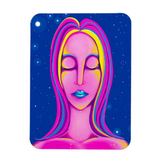 Scorpio Woman Digital Painting Magnet