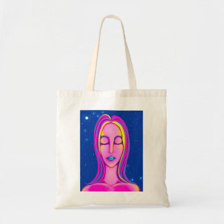 Scorpio Woman Digital Painting Tote