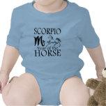 Scorpio Year of Horse Zodiac Baby Bodysuits
