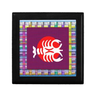 SCORPIO Zodiac Astrology Jyotish Symbols Keepsake Box