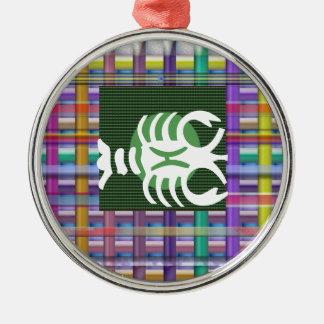 SCORPIO Zodiac Astrology Jyotish Symbols Metal Ornament