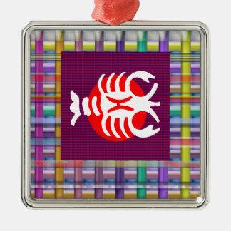 SCORPIO Zodiac Astrology Jyotish Symbols Christmas Ornament