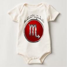 Scorpio Zodiac Astrology Sign Baby Bodysuit