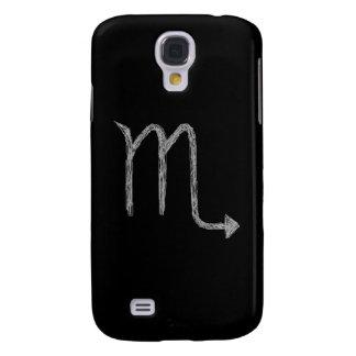 Scorpio Zodiac Astrology Sign Black Samsung Galaxy S4 Case