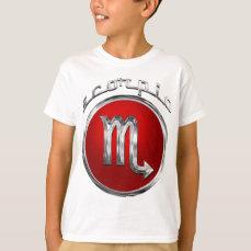 Scorpio Zodiac Astrology Sign T-Shirt