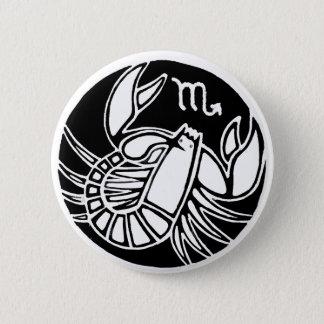 Scorpio - Zodiac Badge Pinback Button