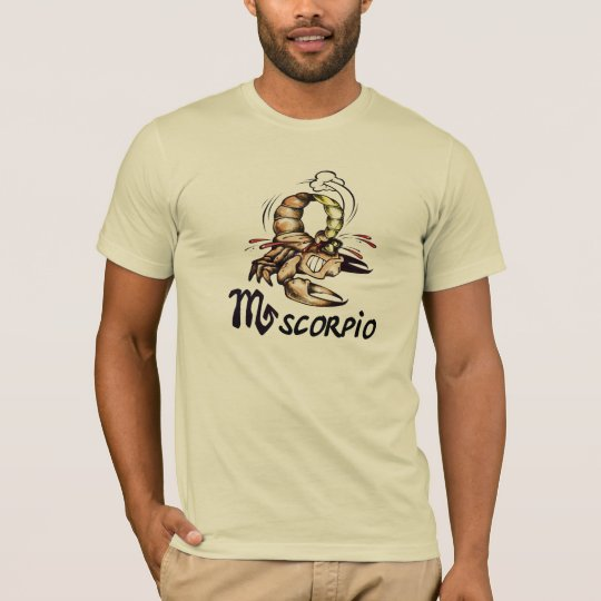 Scorpio Zodiac Cartoon T-shirt