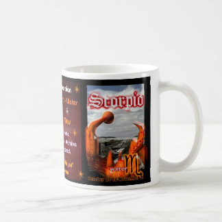 Scorpio zodiac Cup Coffee Mug