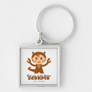 Scorpio Zodiac for Kids Keychain