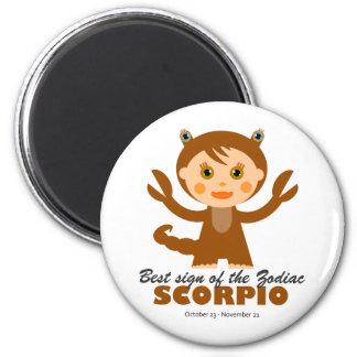Scorpio Zodiac for Kids Magnet
