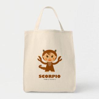 Scorpio Zodiac for Kids Tote Bag