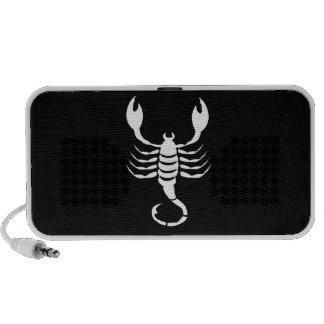 Scorpio Zodiac Pictogram Doodle Speaker
