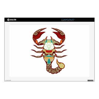 "Scorpio Zodiac - Scorpion Decal For 17"" Laptop"