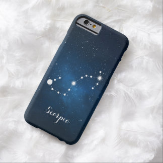 Scorpio Zodiac Sign Constellation Barely There iPhone 6 Case