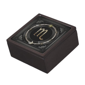 Scorpio Zodiac Sign Jewelry Box