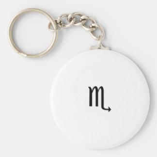 Scorpio - Zodiac Sign Keychain