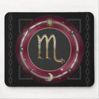 Scorpio Zodiac Sign Mouse Pad