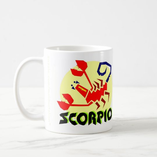 Scorpio Zodiac Sign Mug