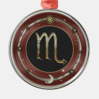 Scorpio Zodiac Sign Christmas Ornaments