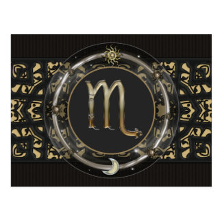 Scorpio Zodiac Sign Postcard