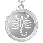 Scorpio Zodiac Star Sign Silver Premium necklaces