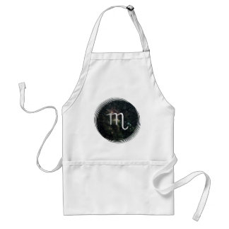 Scorpio Zodiac Star Sign Universe Crafts Cook Chef Adult Apron