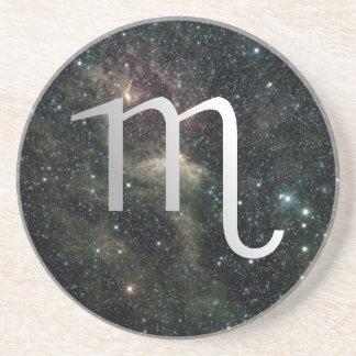 Scorpio Zodiac Star Sign Universe Drinks Coaster
