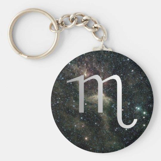 Scorpio Zodiac Star Sign Universe Keychain