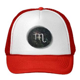 Scorpio Zodiac Star Sign Universe Trucker Hat