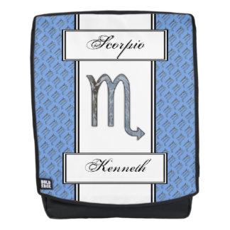 Scorpio Zodiac Symbol Element by Kenneth Yoncich Backpack