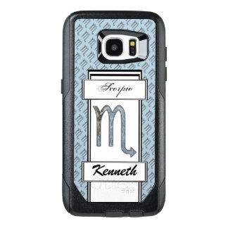 Scorpio Zodiac Symbol Element by Kenneth Yoncich OtterBox Samsung Galaxy S7 Edge Case